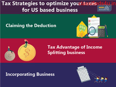 Tax Strategies to optimize your taxes for US-based business