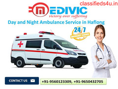 Day and Night Ambulance Service in Haflong by Medivic Ambulance