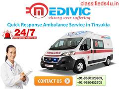 Quick Response Ambulance Service in Tinsukia by Medivic Ambulance