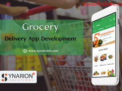 Develop Your Own Grocery Shopping And Delivery App