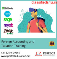 Where can I get the job-oriented courses of Foreign Accounting and Taxation Training in Ahmedabad?