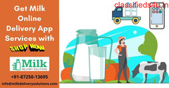 Milk delivery app solutions