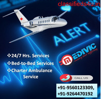 Book Quality-Based Air Ambulance Services in Ranchi by Medivic