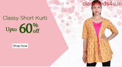 Shop Short Kurti Online for Ladies