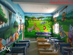 Play School Wall Painting In Hyderabad