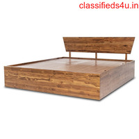 Buy Teak Wood Bed Online at Prices from Rs 17500| Wakefi