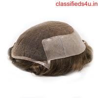 Harry Lace Hair System for Men A Contour Shape Front Hairline