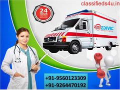 Transcendent Medivic Ambulance Service in Bihta, Patna