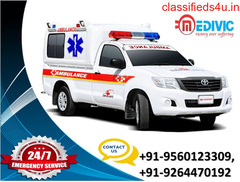 Classy Ambulance Service in Boring Road, Patna by Medivic