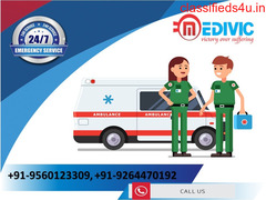 Avail Most Reliable ICU Ambulance Service in Patna by Medivic
