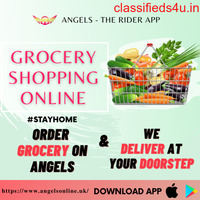 Best Grocery Shopping Online with Angels The Rider App