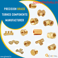 Precision Brass Turned Components Manufacturer in Jamnagar
