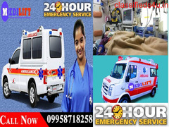 Avail ICU Emergency Ambulance Service in Delhi with Doctor