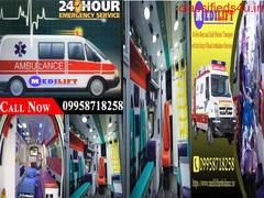 Get the Complete ICU Setups Ambulance Service in Varanasi