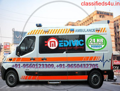 Modern and Best Ambulance Service in Ranchi by Medivic at Low-Cost