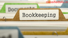 Remote bookkeeping services for businesses.