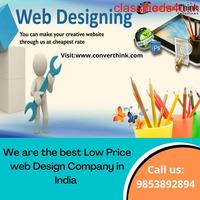 Low Price web Design Company in India