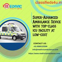 Trustworthy Life-Savior Medivic Ambulance Service in Kumhrar, Patna