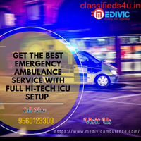 Top-Grade Life Support Medivic Ambulance Service in Kurji, Patna