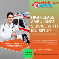 Get the Fastest and Safest ICU Ambulance Service in Patna by Medivic