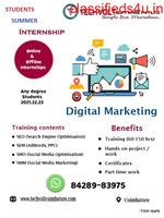Summer Internship Training Techvolt Software Coimbatore