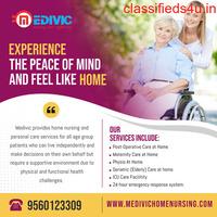 Avail Medivic Home Nursing Service in Patel Nagar, Patna at Lower Price