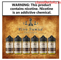 Five Pawns Vape Juices for All-Day Vaping Experience - Ejuicestore