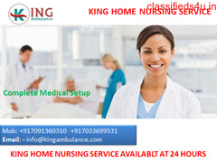Choose King Home Nursing Care for Patient Service at Home