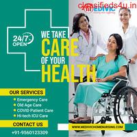 Obtain Medivic Home Nursing Service in Patna with Hi-tech ICU Facility