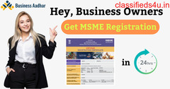Get a Hassle-free Udyam / MSME certificate for your business