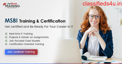 MSBI Certification By JanBask Training