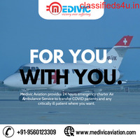 Use Medivic Air Ambulance Services in Bhopal with Medical Experts