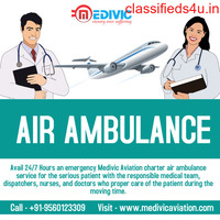 Use Top-Rated Emergency Air Ambulance Services in Jabalpur by Medivic