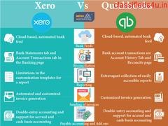 Xero Vs Quickbooks features comparison