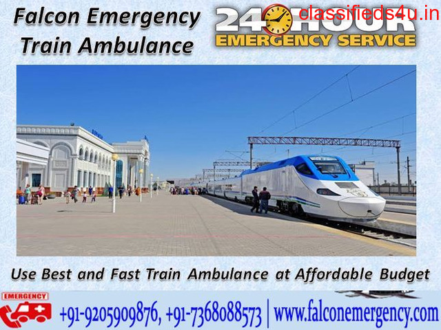 Get Fast Emergency Train Ambulance Services from Guwahati at the Low Budget