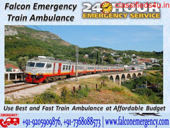 Get Quick and Fast Train Ambulance Services from Hyderabad at Low-Cost