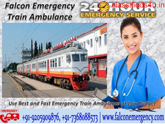 Use Medical Emergency Train Ambulance Services from Jaipur for Best Services