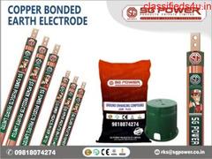 Get Copper Bonded Earthing Electrode
