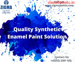 Quality Synthetic Enamel Paint Solution