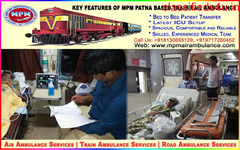 Get Best and Safest Emergency Train Ambulance in Patna