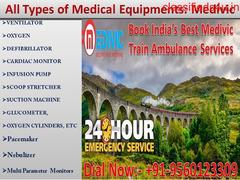 Get Medivic Aviation Safest Train Ambulance Services in Patna