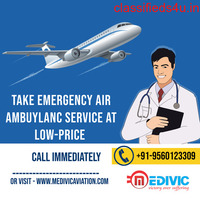 More Creditable Air Ambulance Service in Jamshedpur by Medivic Aviation