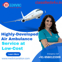 Most Prominent Emergency Medivic Air Ambulance Service in Patna