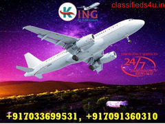 Hire Superb Air Ambulance Service in Delhi with MBS Doctor Facility