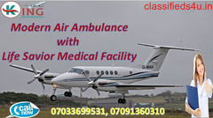 Hire Cheap Rate Air Ambulance Service in Ranchi with ICU Setup by King