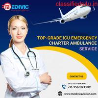 Choose Frugal ICU Air Ambulance Services in Jamshedpur by Medivic