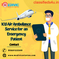 Get Well-Developed Emergency Air Ambulance Services in Patna by Medivic