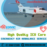 Take Top-Notch ICU Support Air Ambulance Services in Ranchi by Medivic