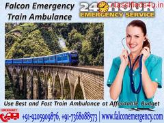 Get Reliable Train Ambulance Services in Patna - Falcon