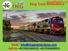 Get Low-Cost ICU Train Ambulance Services in Patna for Patient Transfer